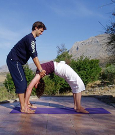 Greg Colson Yoga Adjustment